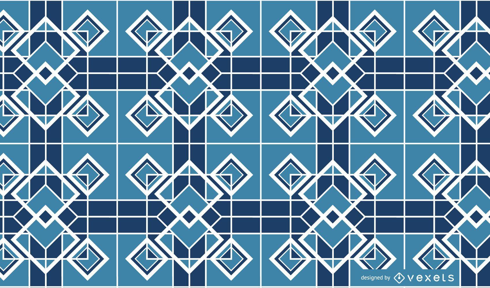 Fondo de mosaico vector 4