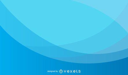 Fundo de onda azul claro