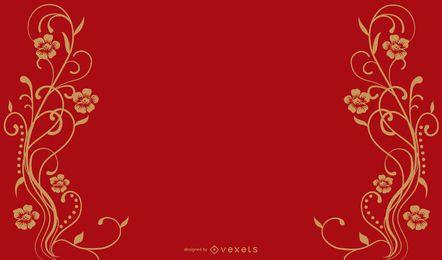 Roter herrlicher Hintergrund