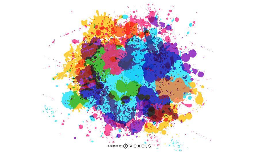 Color Ink Background 4