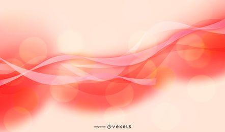 Light Pink Wave Background Design