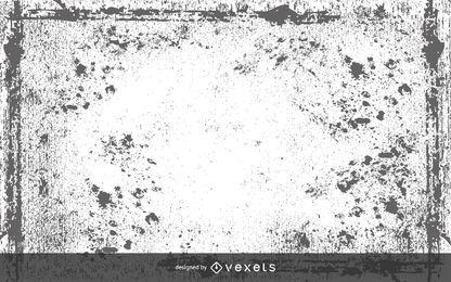 Grunge Monochrome Texture Design