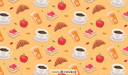 Vector Food Pattern