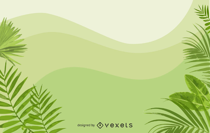 Grüner Hintergrund-Vektor 3