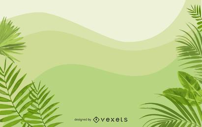 Vector de fondo verde 3