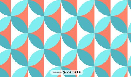 Circles Mosaic Background