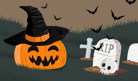 Halloween Kürbisschläger