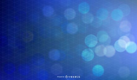 Abstract blue gradient backdrop