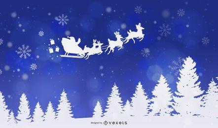 Hermoso fondo navideño 49