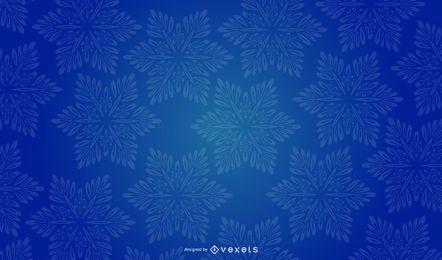Desenho vetorial de fundo de floco de neve