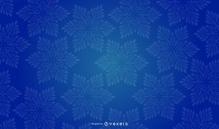 Snowflake Background vector design