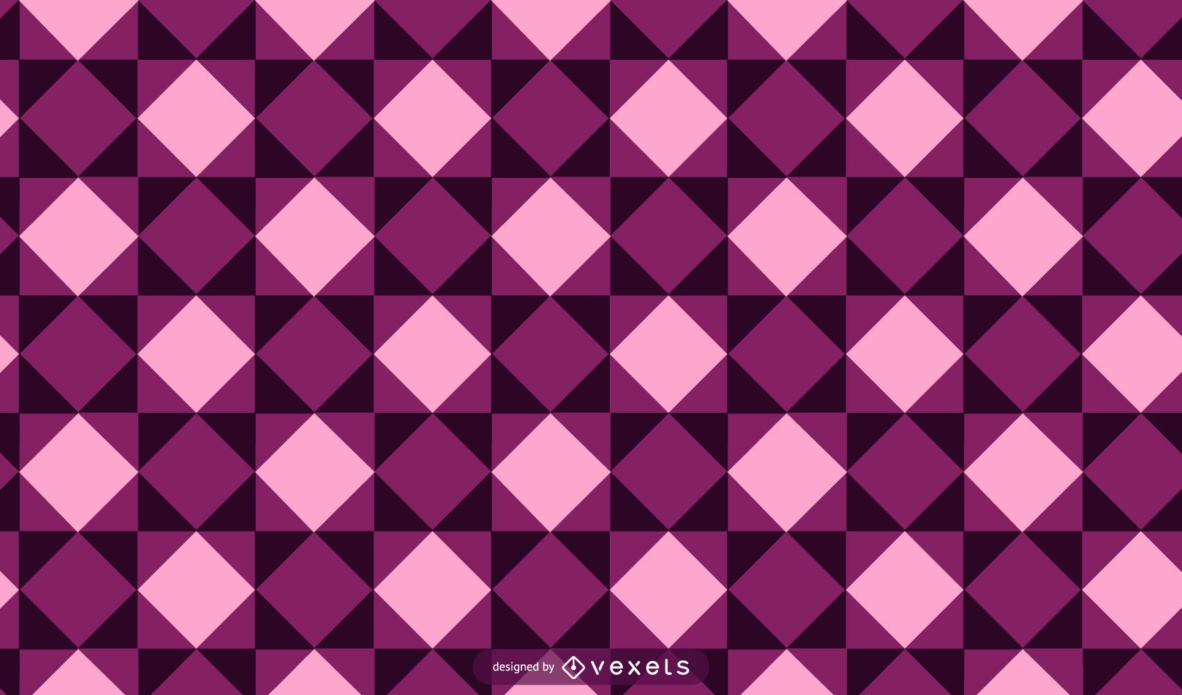 Hermoso patrón de fondo de mosaico