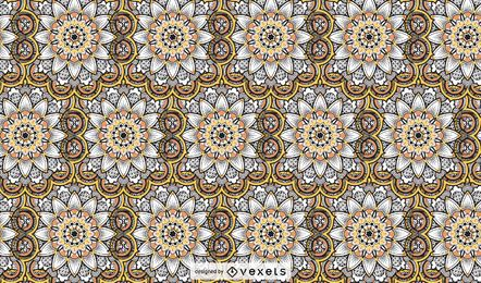 Handdrawn Mandala Pattern