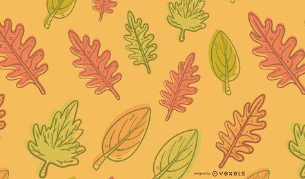 Fall Leaves Illustration Background