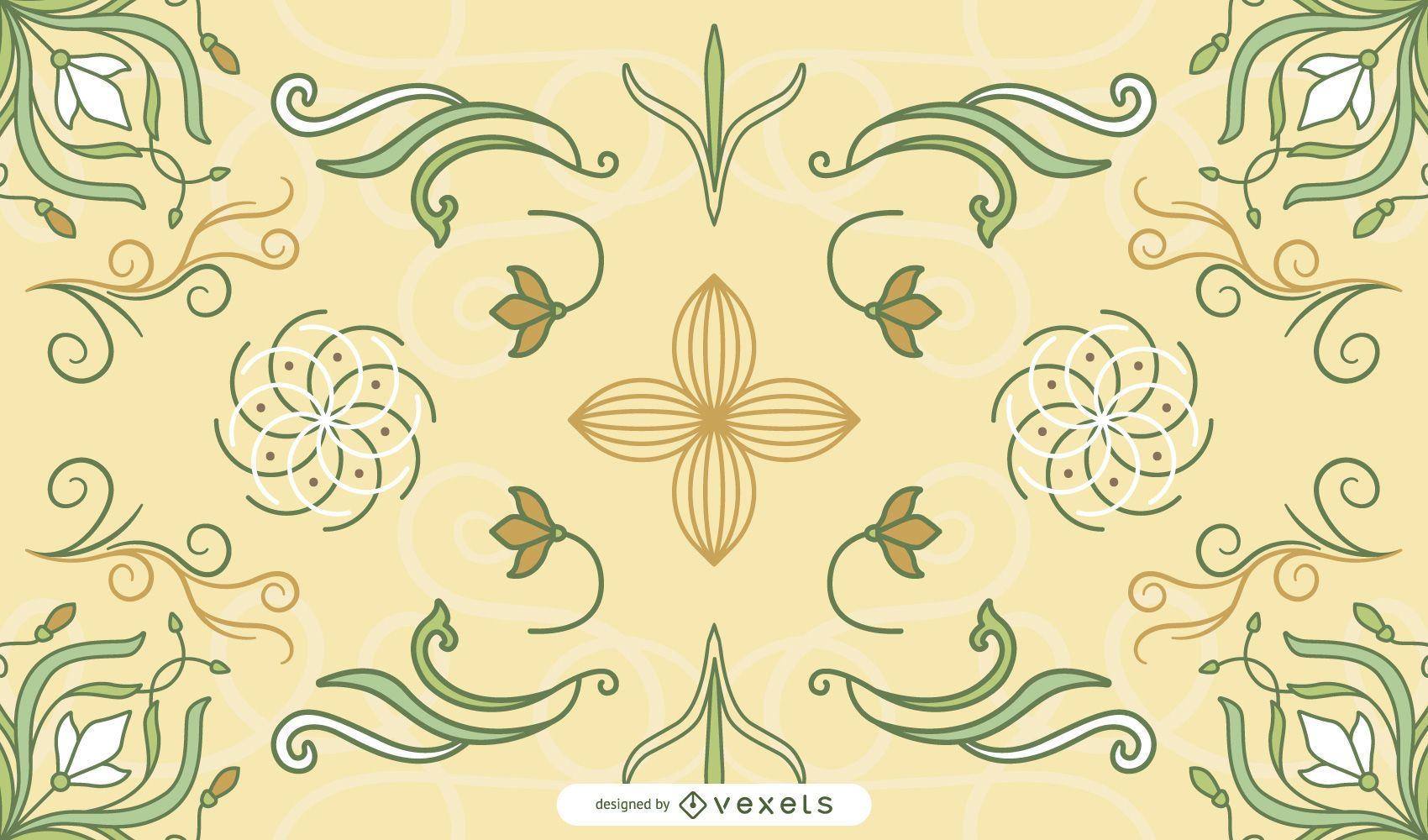 European Pattern Background 39