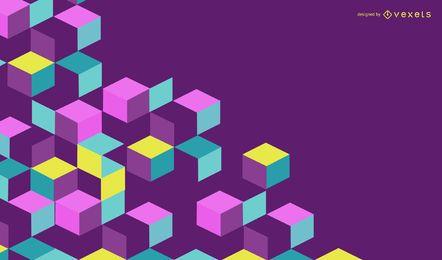 Bandeira de construção abstrata