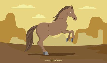 Horse 01 Vector