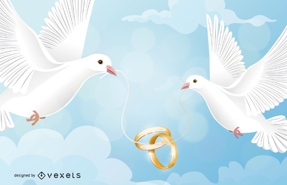 Die Tauben auf dem Ring