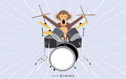 Mono del tambor