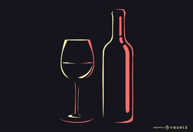 Botellas de vino U0026Amp