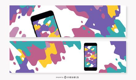 3 banners para iPhone