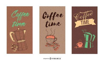 Café Banner03 Vector