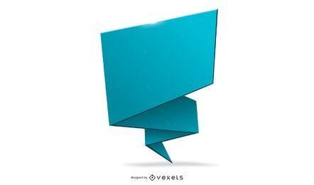 Banner Vector Origami