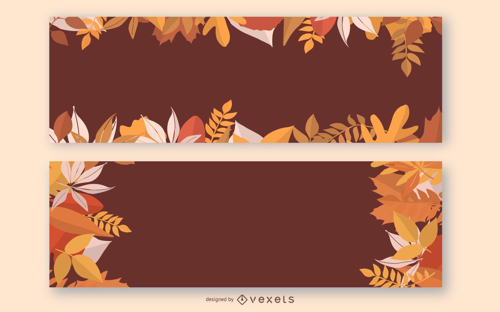 Banner de otoño