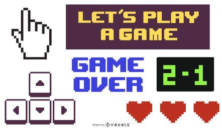 Vector de icono de entretenimiento de juego