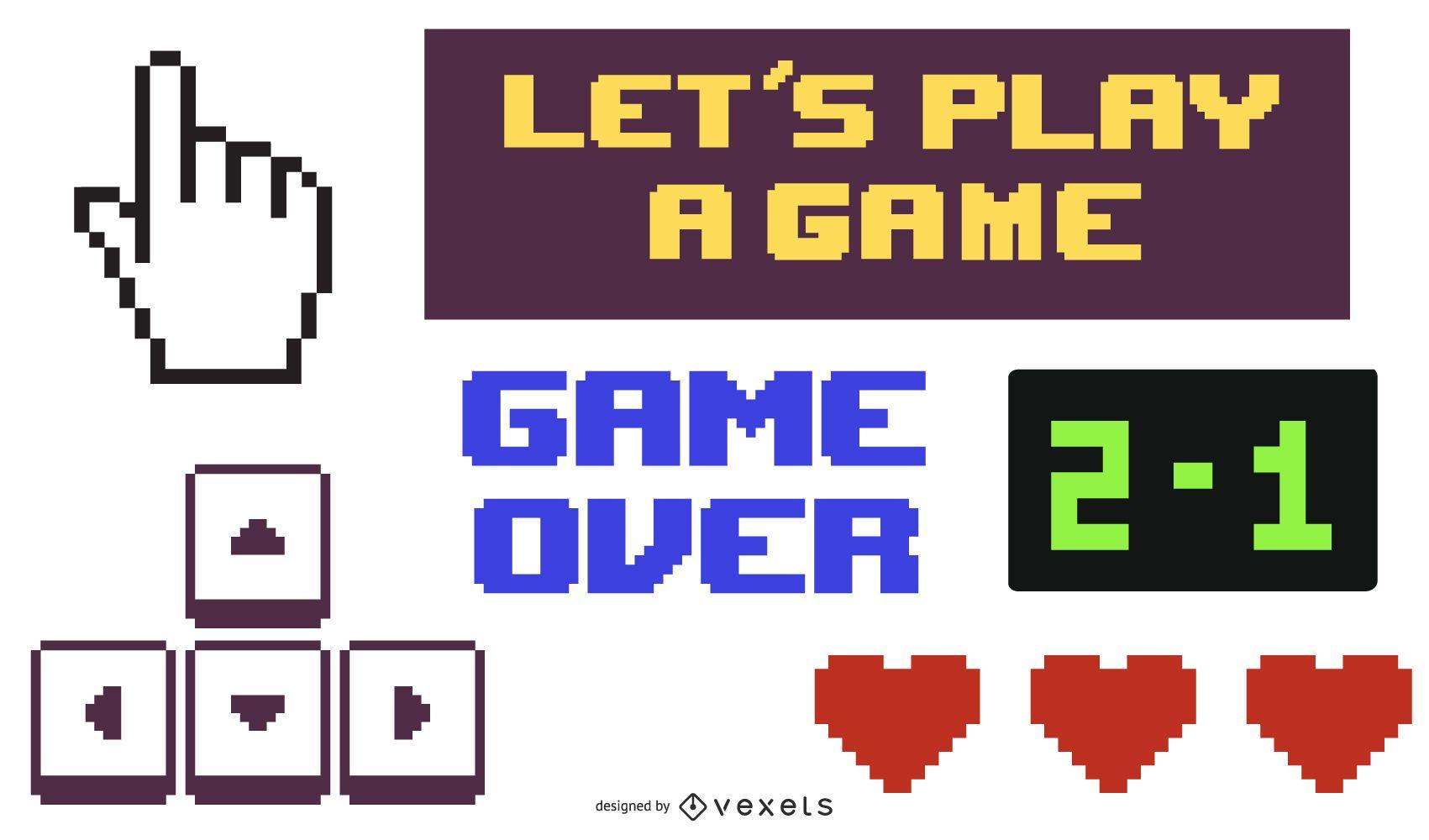 Vetor de ícone de jogo de entretenimento