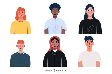 Free Vector Business People