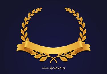 Goldmedaille Krone