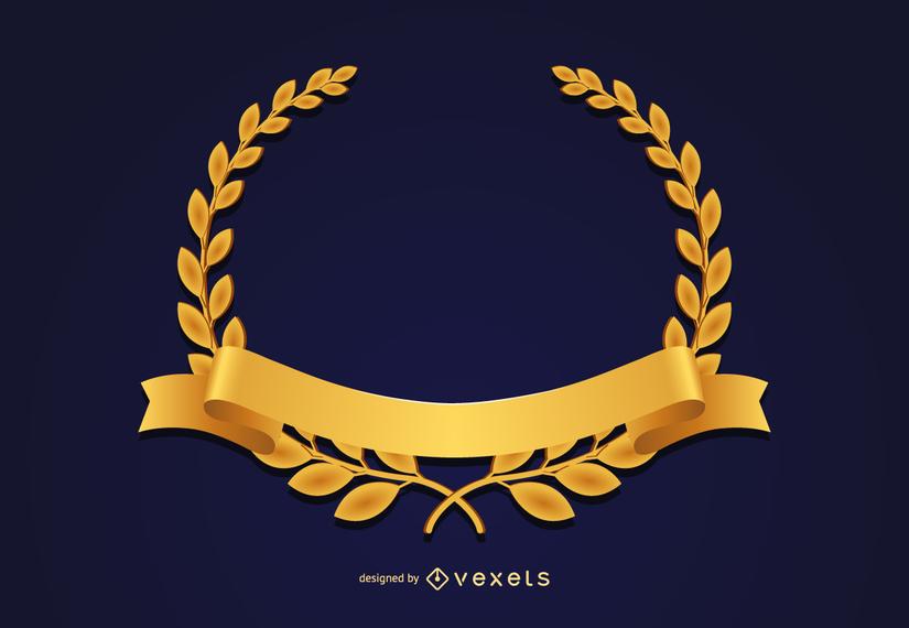 Coroa de medalha de ouro