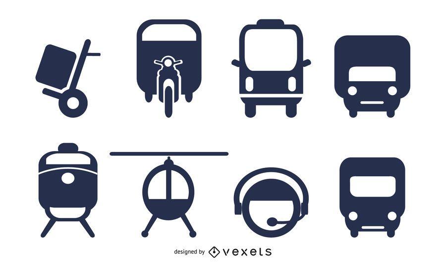 Vektor des Transportsymbols 2