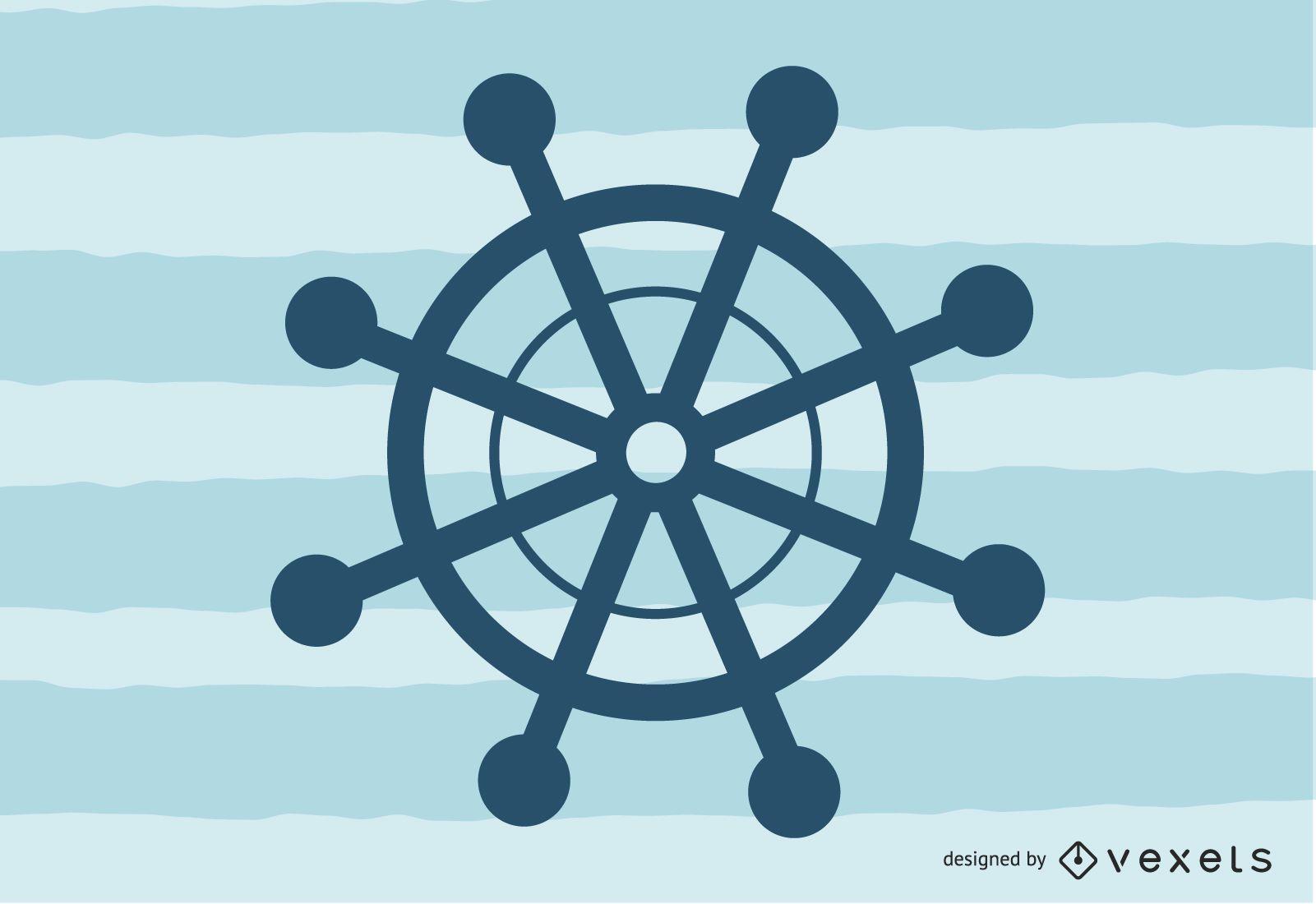 Navigationssymbol 4 Vektor
