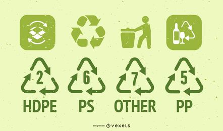 Recycle Icon Vectors