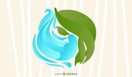 Erde und Wasser