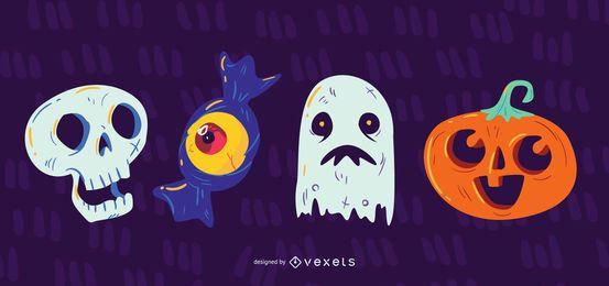 Halloween Gestaltungselementsymbol