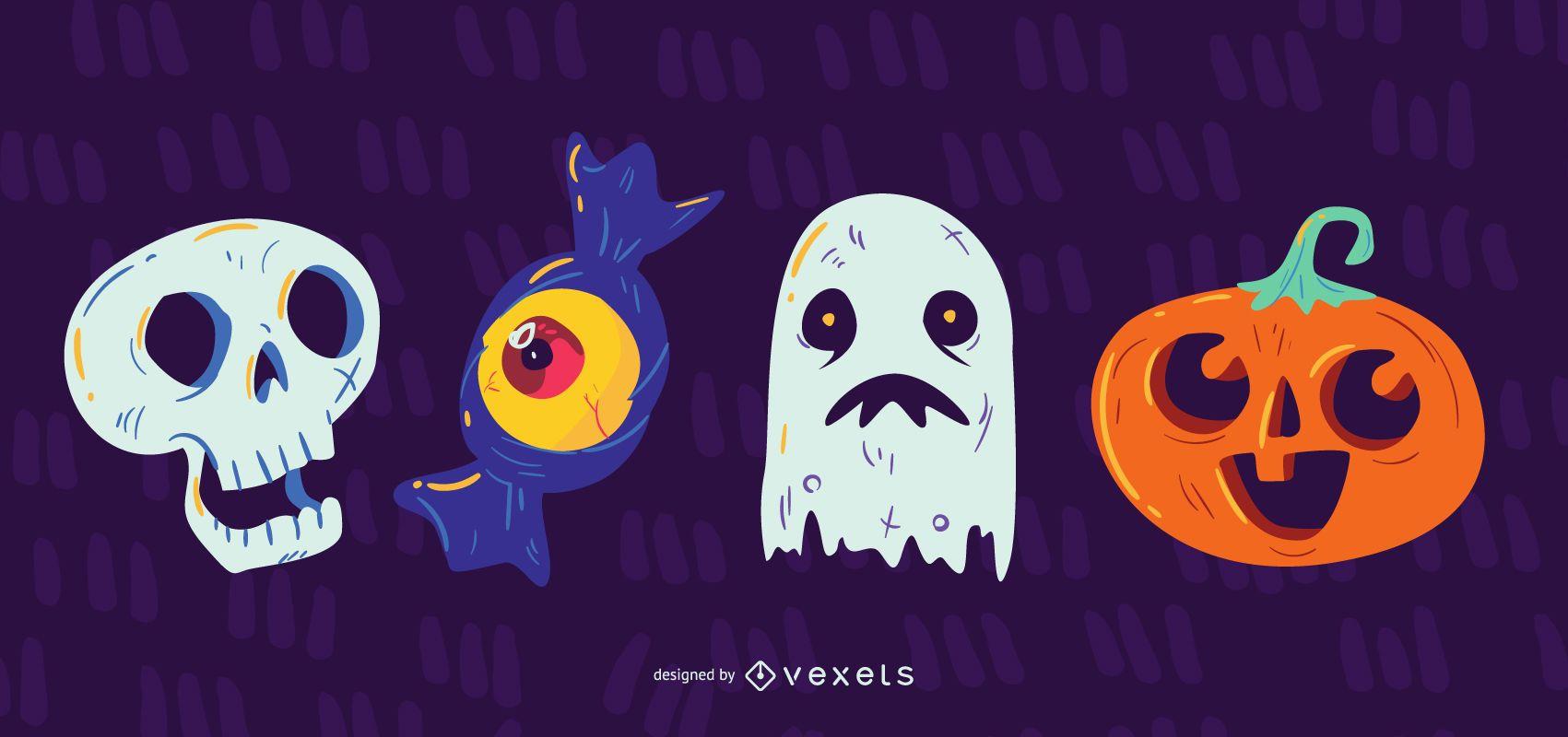 Icono de elemento de diseño de Halloween