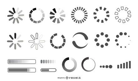 Loading Icon Design Collection