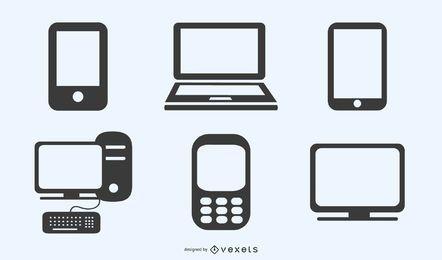 ícone de produtos de tecnologia digital