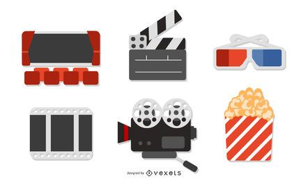 Vector de icono de película 5