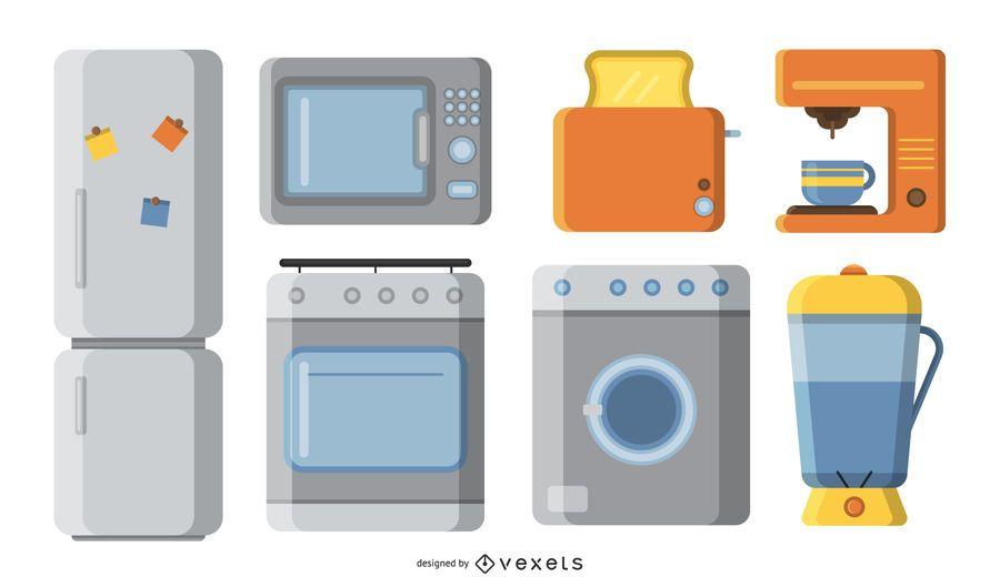 Household appliances kit