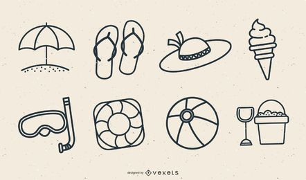Free Summer Icon Vector