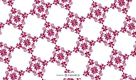 Swirly Summer Floral Pattern