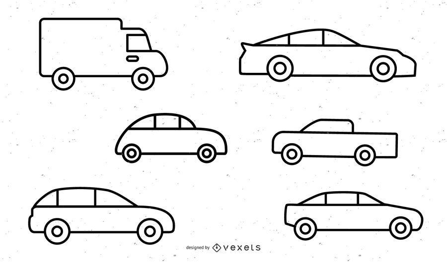 Vehicle Icon 1 Vector 2