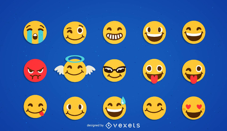 Cool Smilies Vector Icon