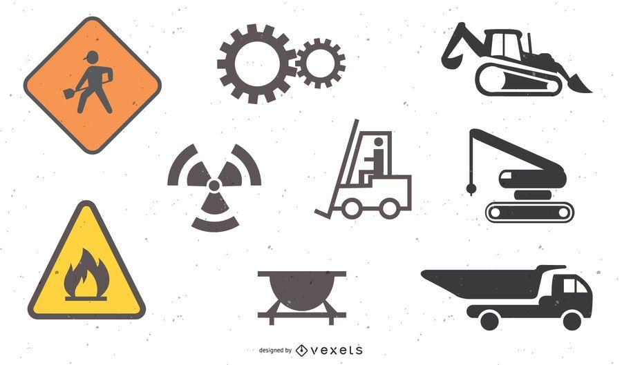 construction site theme icon