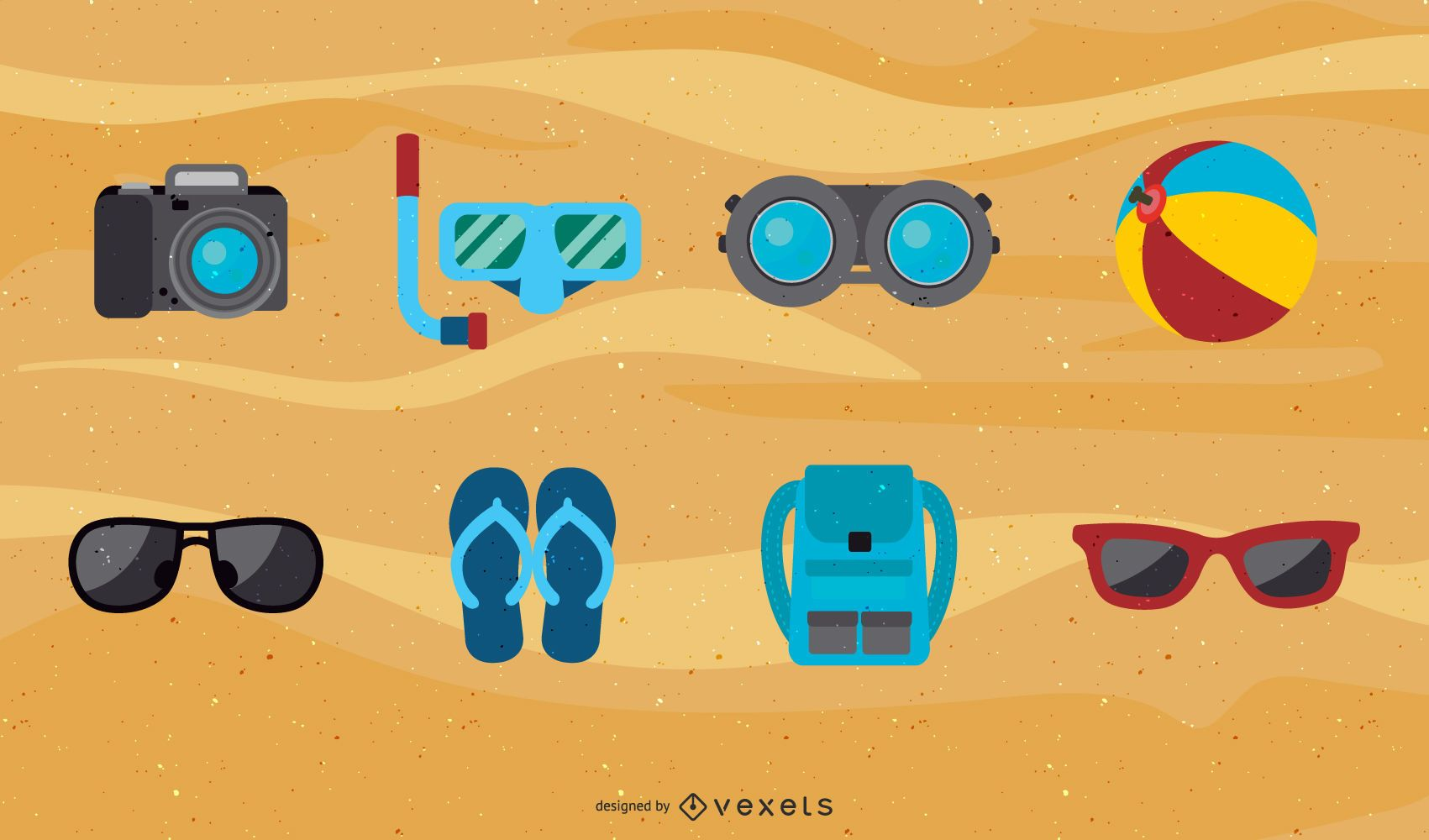 Summer Vector Icons 2