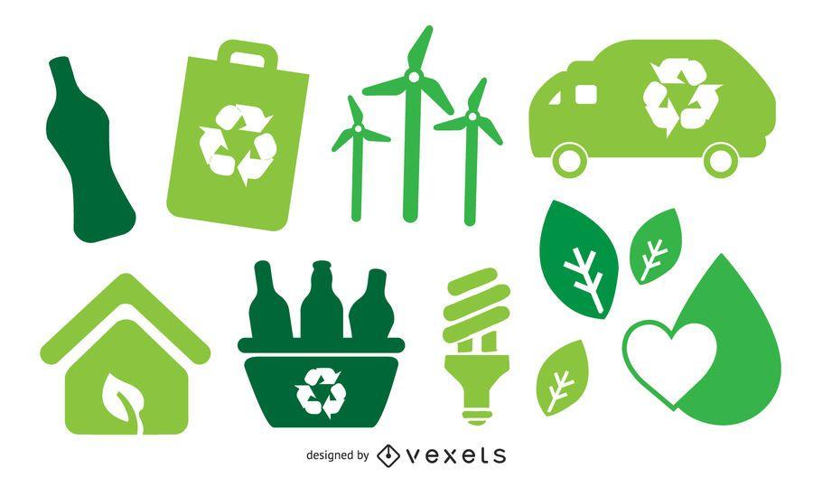 Green Bio Vector Icon
